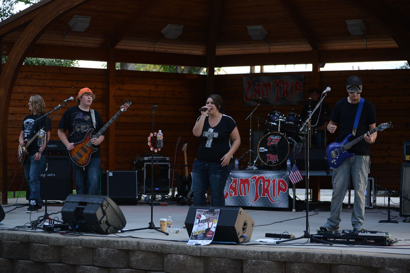 Zamtrip play Concert in the Park