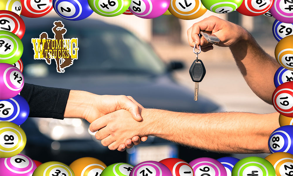 Why Gamble? Wyoming Trucks and Cars Is Offering ONE YEAR Worth of Wyoming Lotto Tickets With Every Purchase!