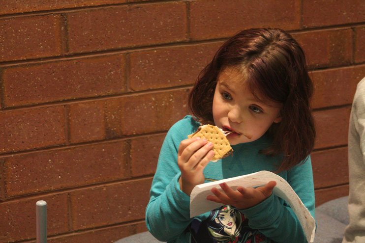 Sweetwater County Library Hosts 'Roast Marshmallows, not Books!'