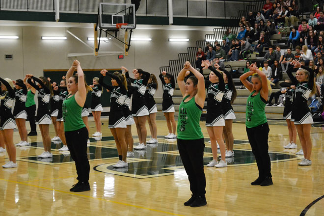 GRHS Gets Ready for Friday Night Game with Pep Rally