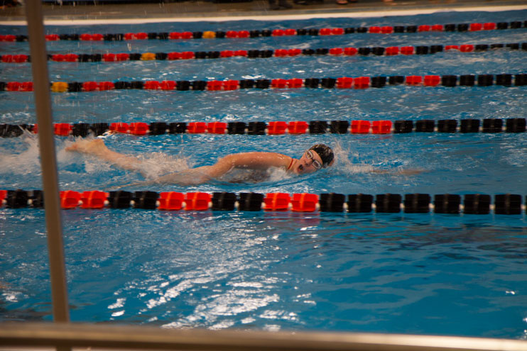 Rock Springs Swimming and Diving Win at Home