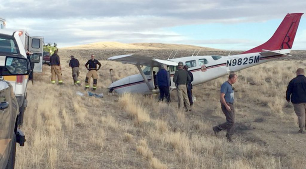 BREAKING: Plane Crashes At Rock Springs-Sweetwater County Airport