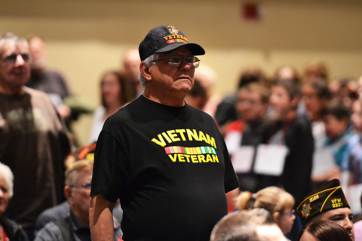Monroe Intermediate School Hosts Veteran's Day Program