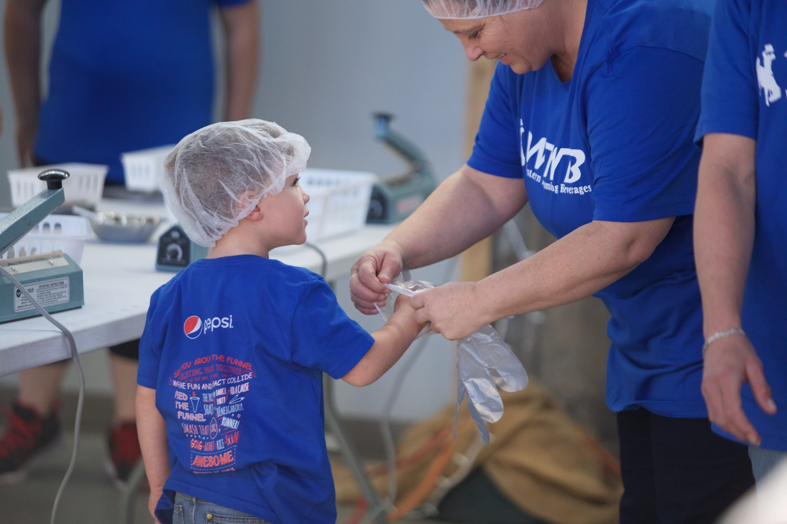 Western Wyoming Beverages Packs Over 31,000 Meals for Local Food Banks