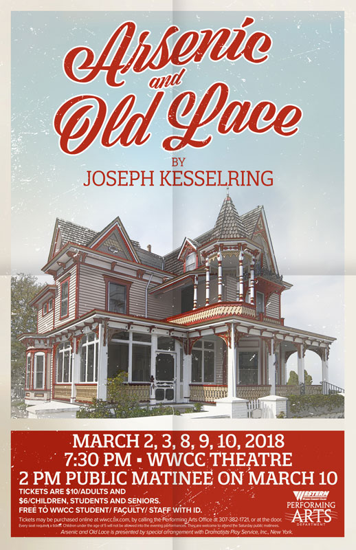 WWCC Presents 'Arsenic and Old Lace'