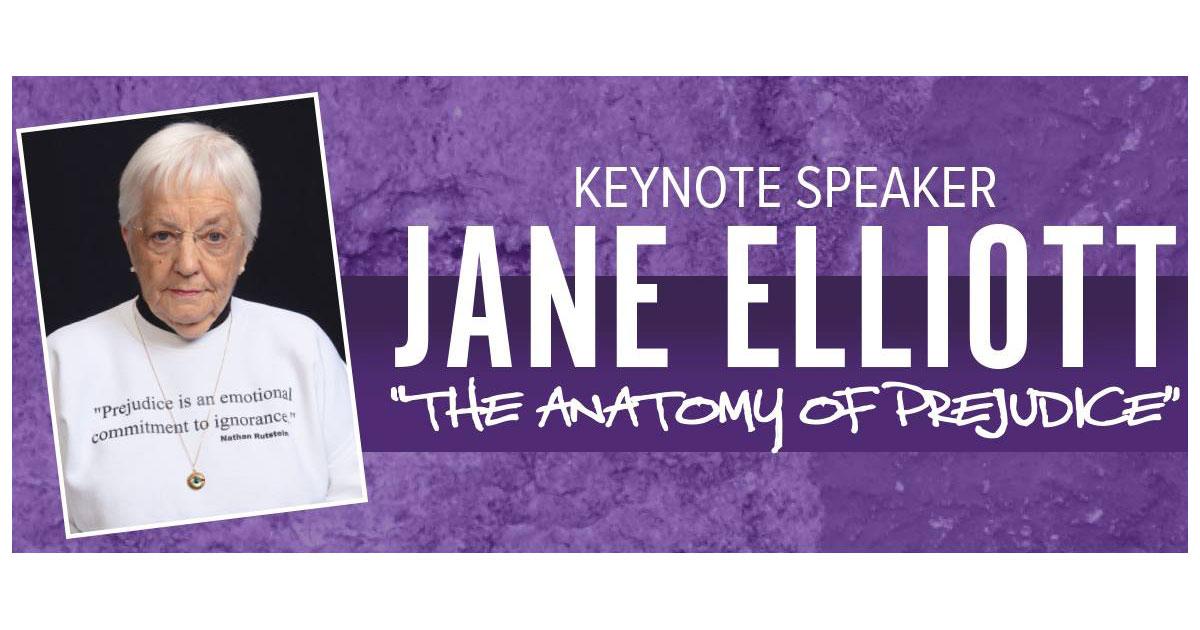 "Jane Elliott Presents ""The Anatomy of Prejudice"" at WWCC"