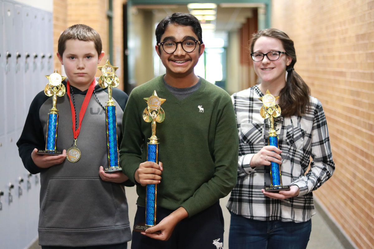 Hosted by WWCC: Sweetwater County Spelling Bee Results