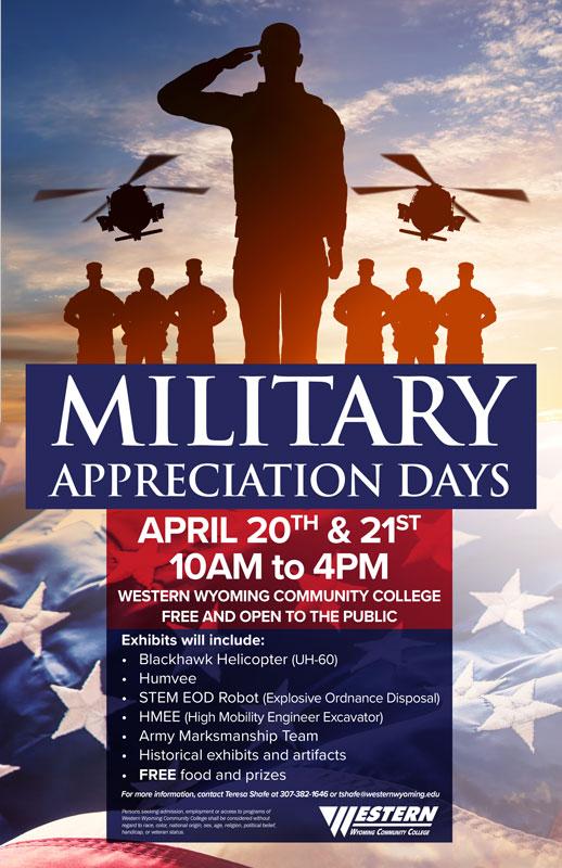 WWCC Will Host Military Appreciation Days