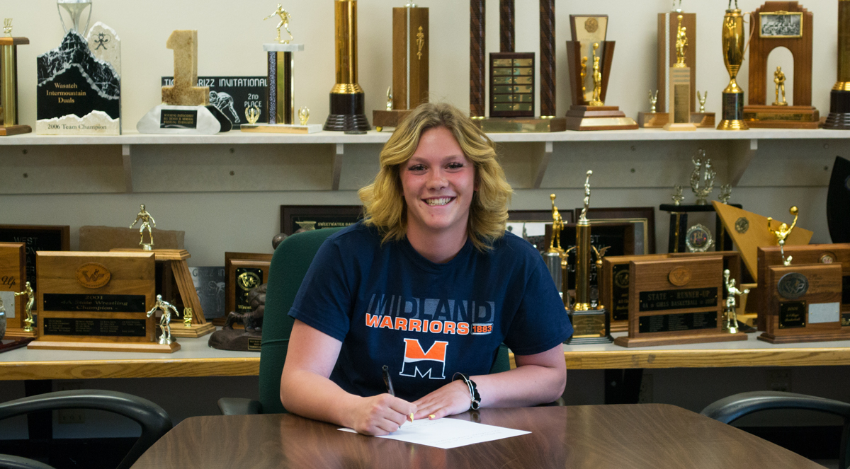 GRHS Soccer Player Signs With Midland University