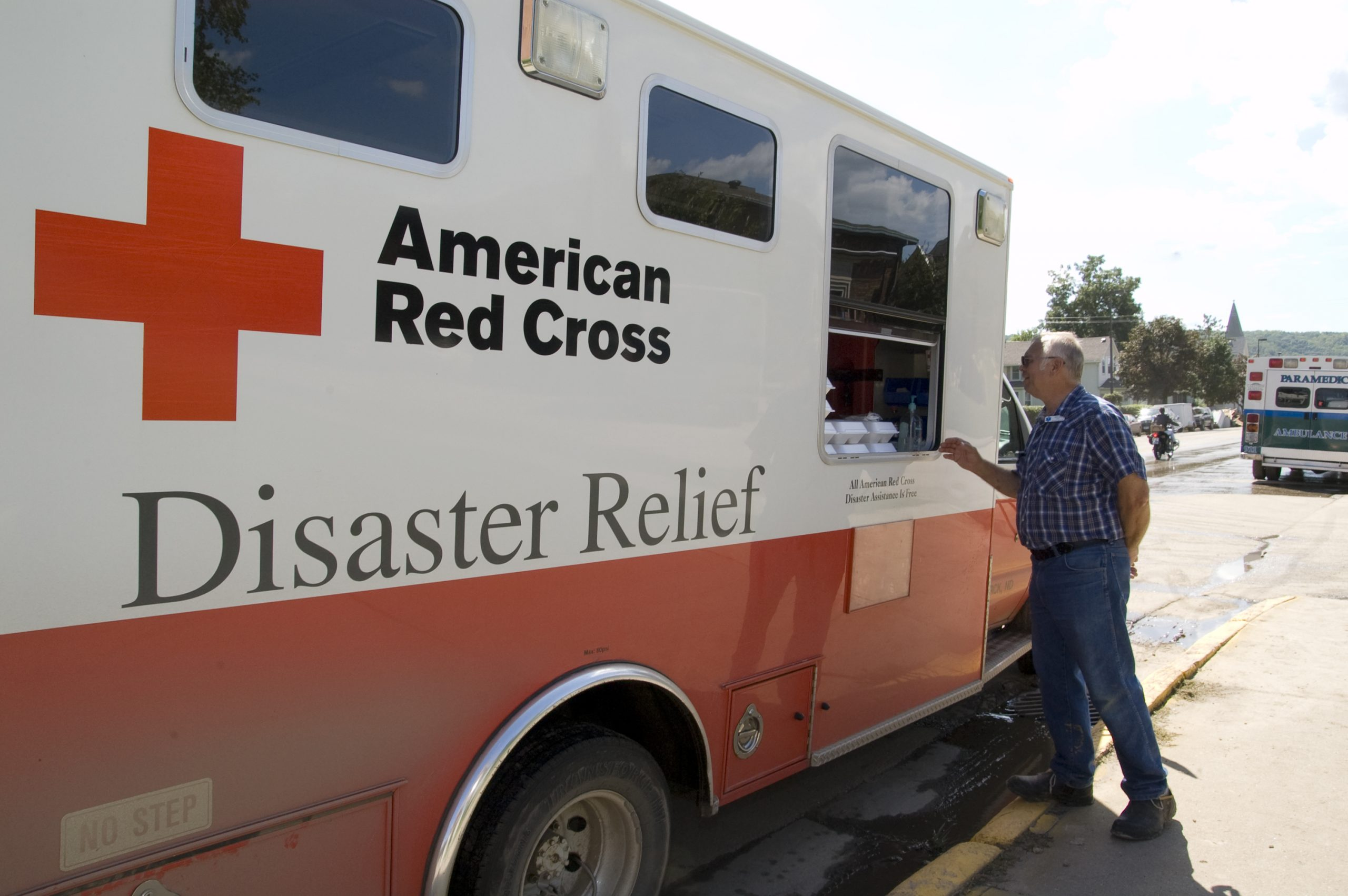 Red Cross Taking Donations to Aid Roosevelt Fire Victims