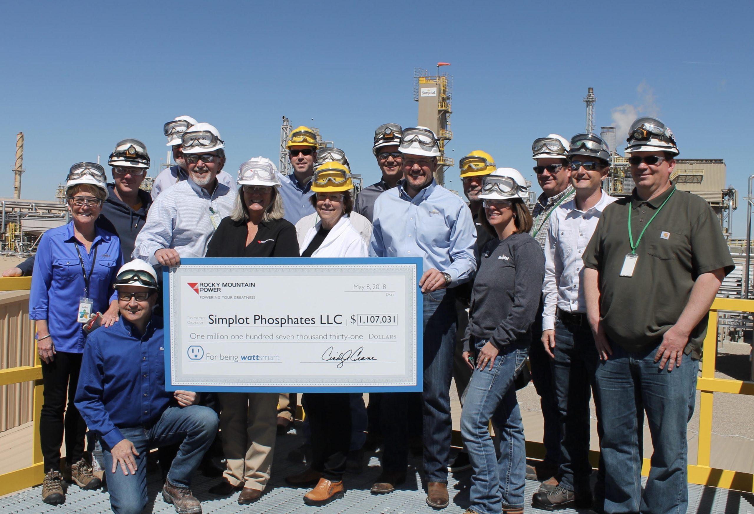 Rock Springs Phosphate Plant Invests $1.64 Million in Energy Efficiency