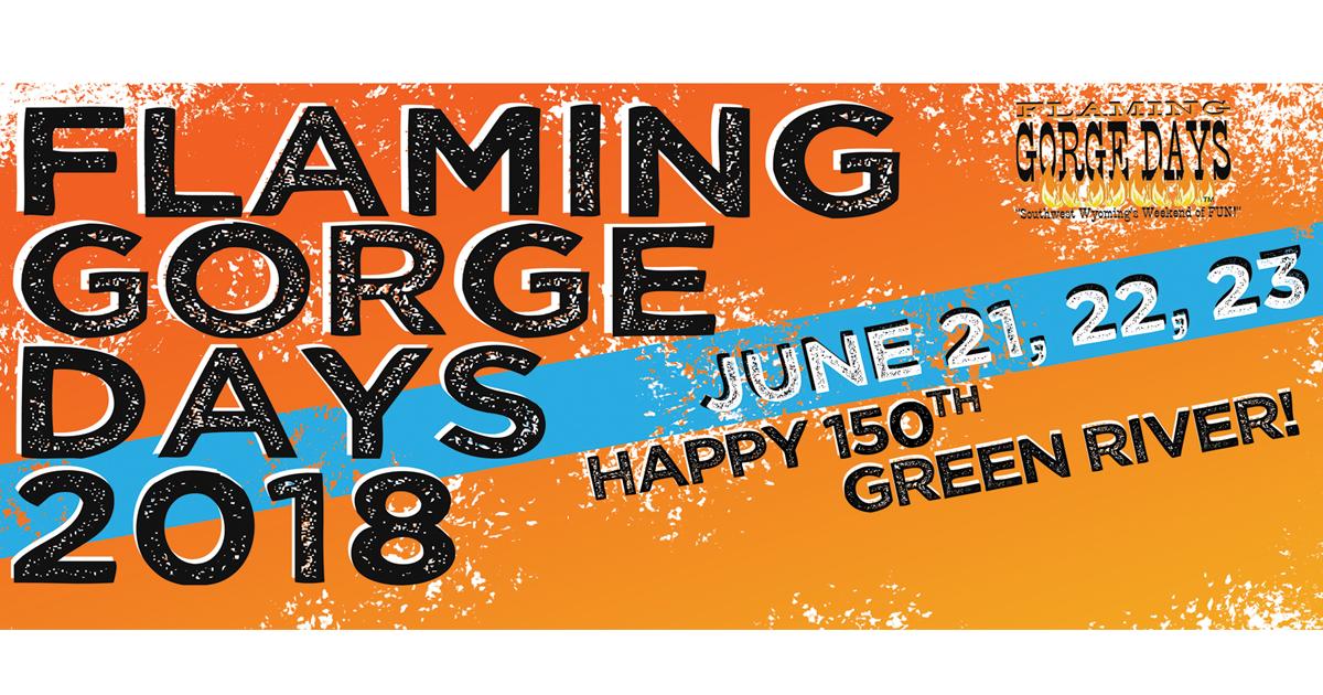 Friday Flaming Gorge Days Fun!