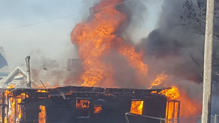 North Rock Springs Fire Spread in Less Than a Minute, Took Massive Coordinated Effort