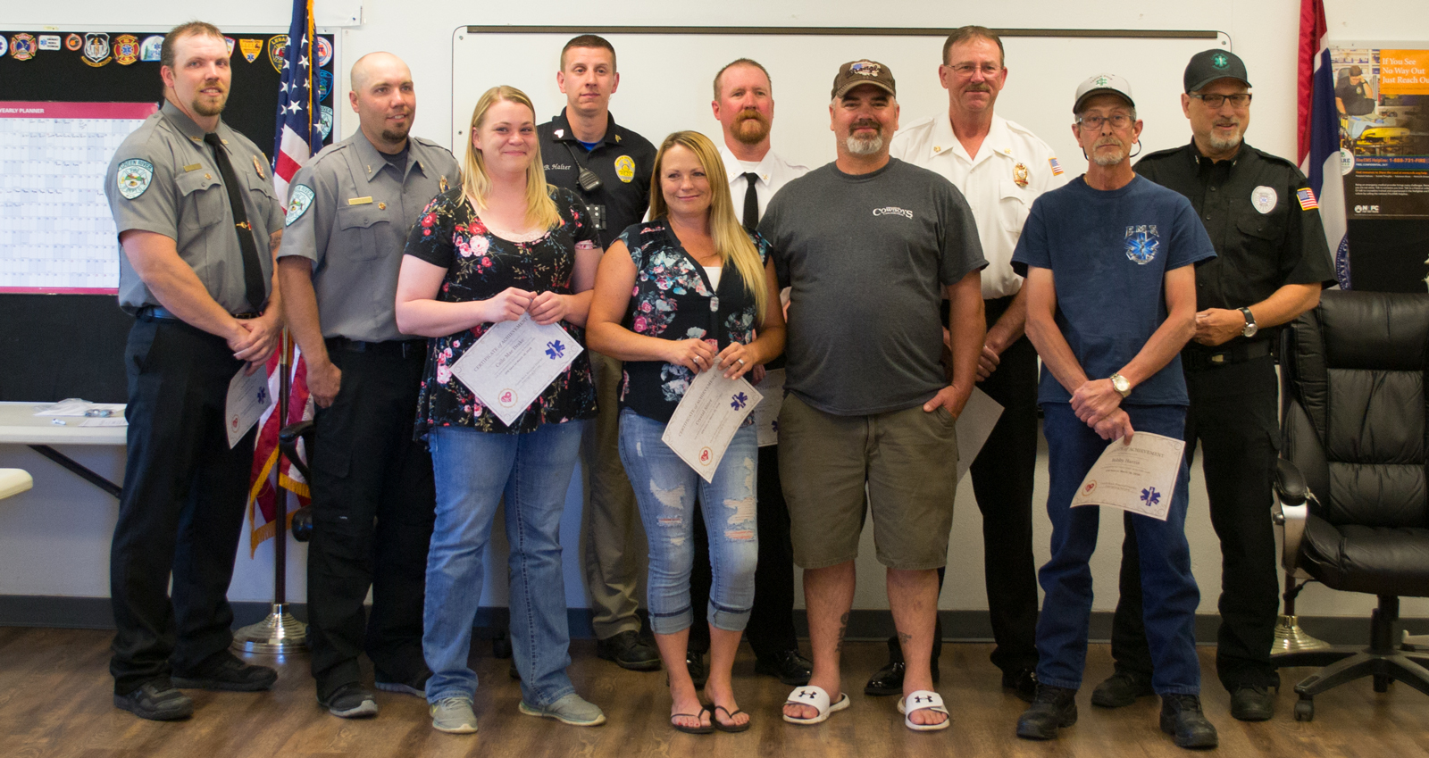 Green River Emergency Responders Recognized for CPR Save