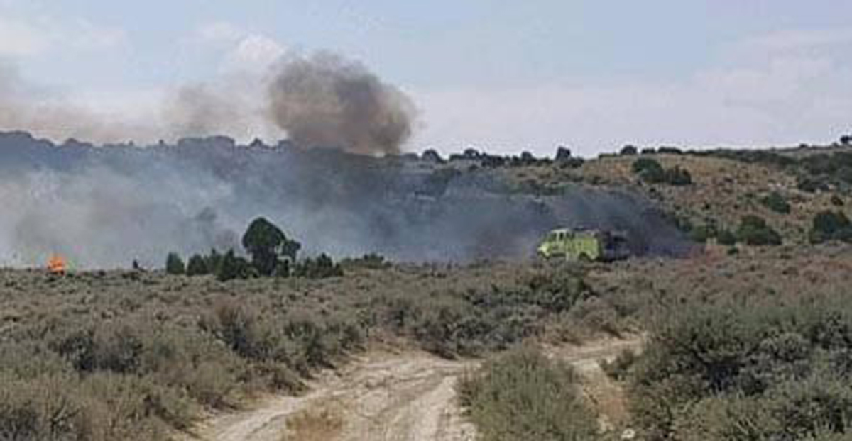 Wildfires Largely Contained in Southwest Wyoming