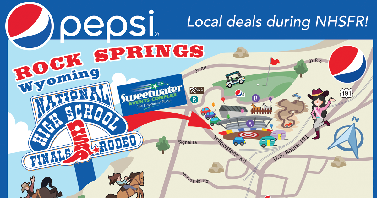 PEPSI Welcomes NHSFR Contestants and Families Back to Rock Springs!