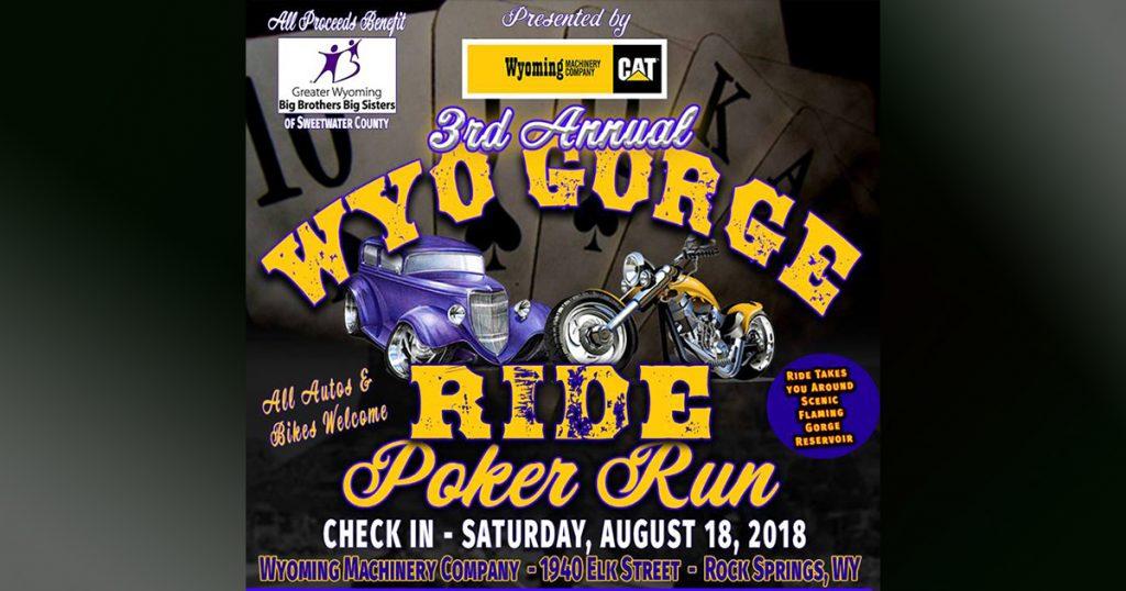 3rd Annual WyoGorge Ride Poker Run