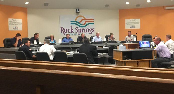 Rock Springs City Council Meeting Agenda October 2