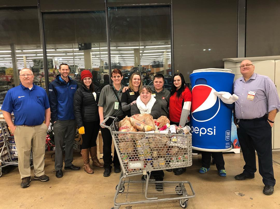 Western Wyoming Beverage's 'Cans for Cans' Food Drive a Success in Green River and Rock Springs