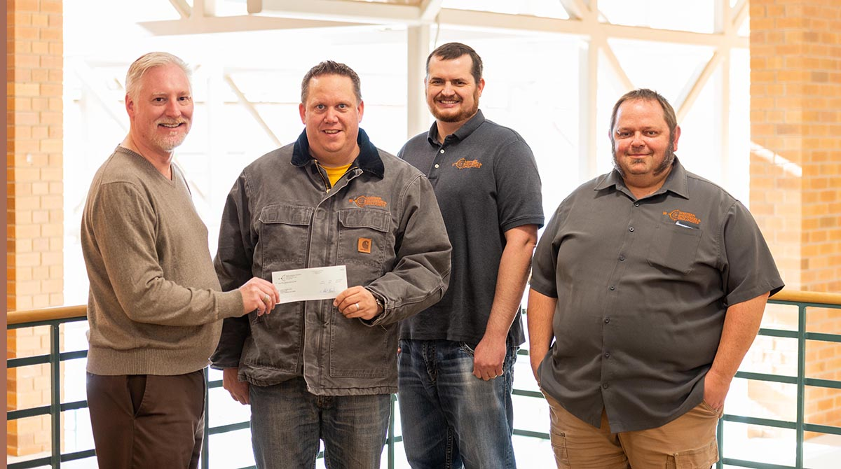 Western Engineers and Geologists, Inc. Donates $1000 to Western Wyoming Community College's Foundation