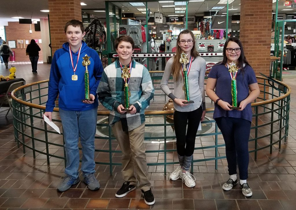 Students Display Skills at 2019 Sweetwater County Spelling Bee