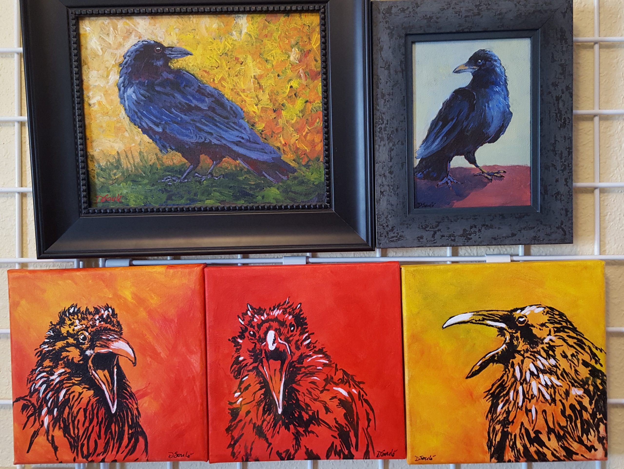 """""""A Conspiracy of Ravens"""" to be Displayed at White Mountain Library"""