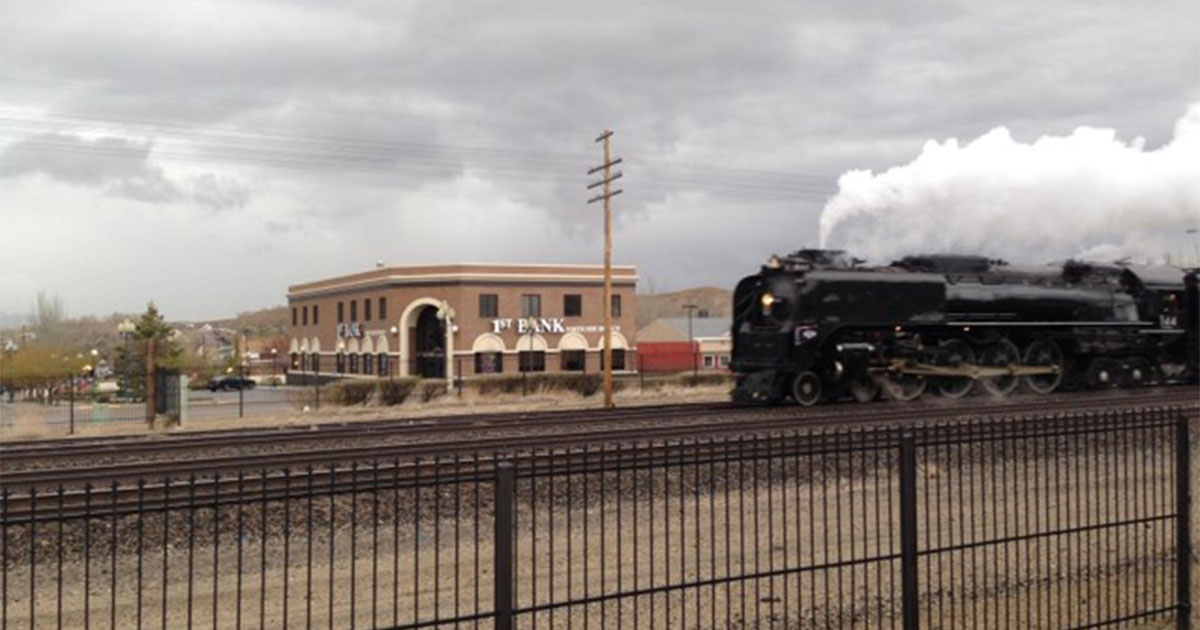 UP Cancels Trip; Historic Steam Engines to Visit Rock Springs in May