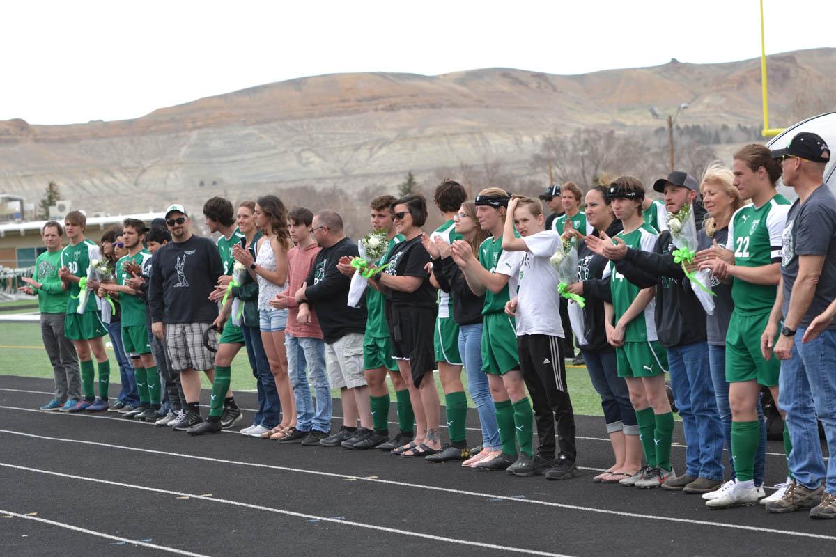 Wolves Soccer Celebrates Seniors [PHOTOS]