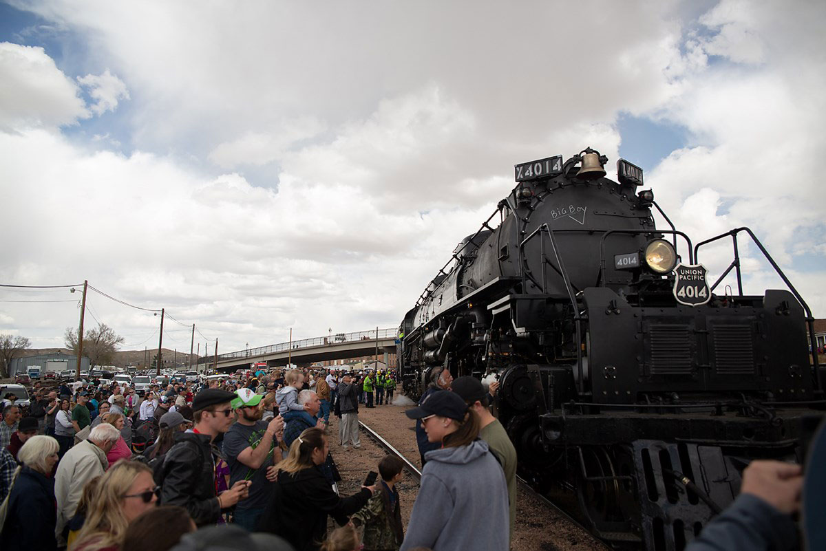 UP Steam Engine to Visit Rock Springs Once More