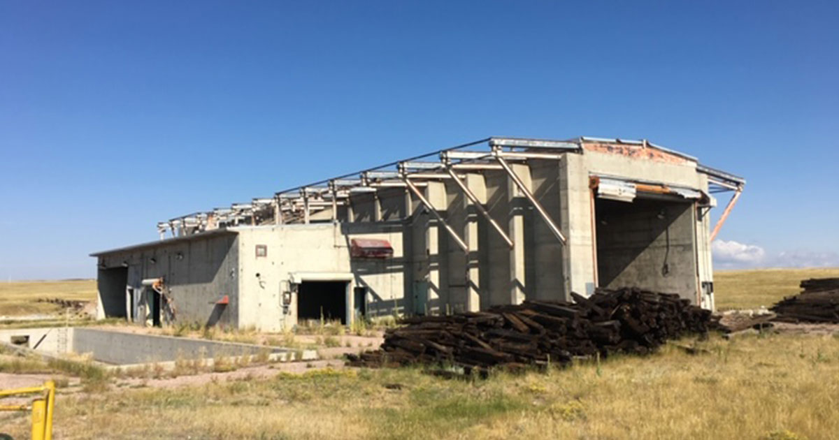 DEQ and Army Corps of Engineers Work Together to Clean Up Missile Site Near Cheyenne