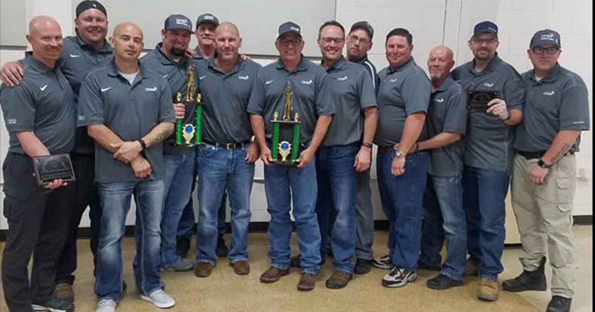 Ciner Mine Rescue Team Claims Another Title in Area Competition