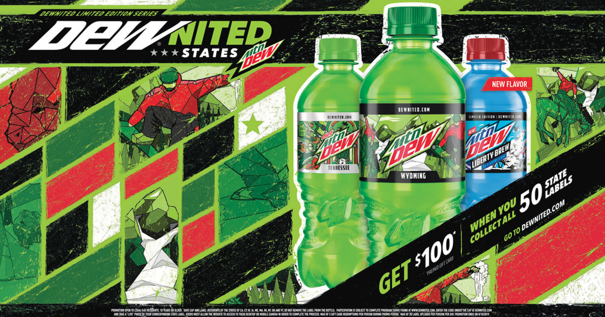 NHSFR Contestants: Show your STATE pride with DEWnited States and WIN!