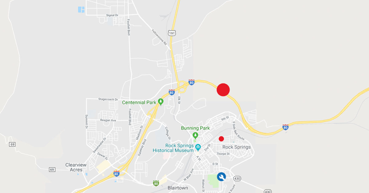 Power Outages Affect Over 3,000 Customers in Rock Springs