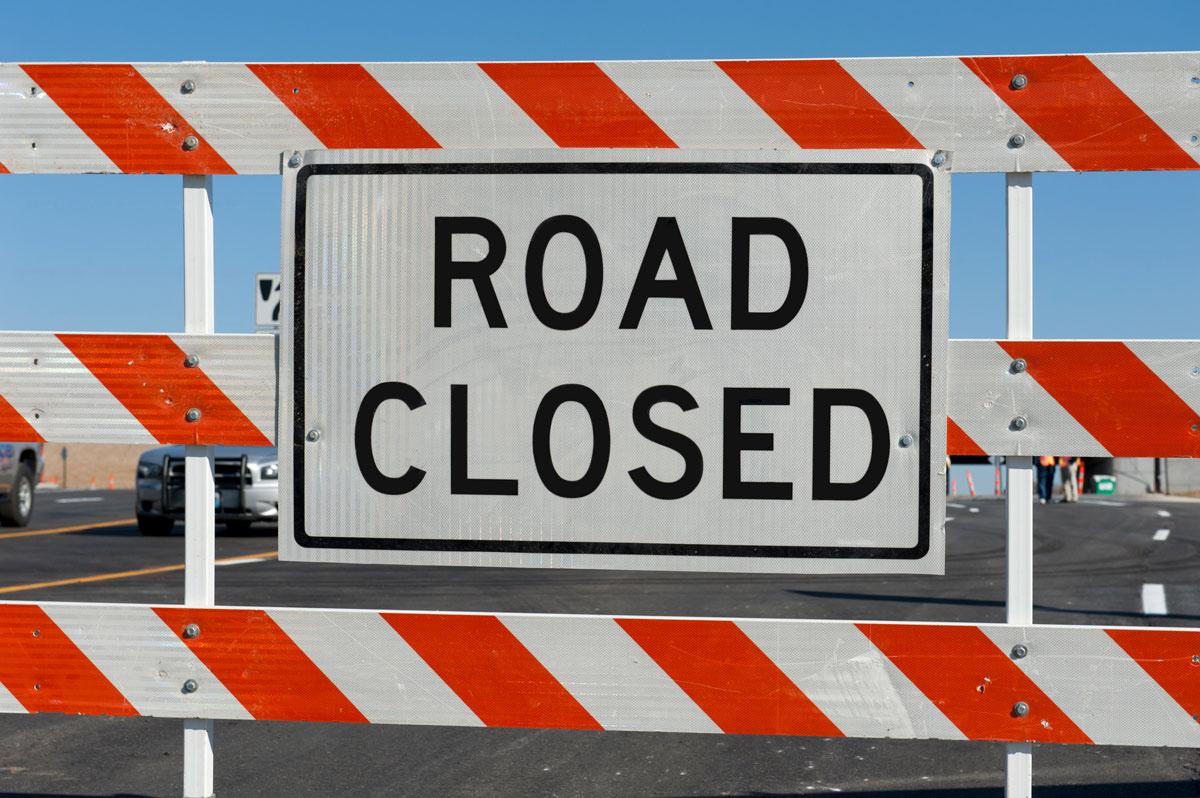 WYDOT Closes Roadway Under Bridge Near Superior