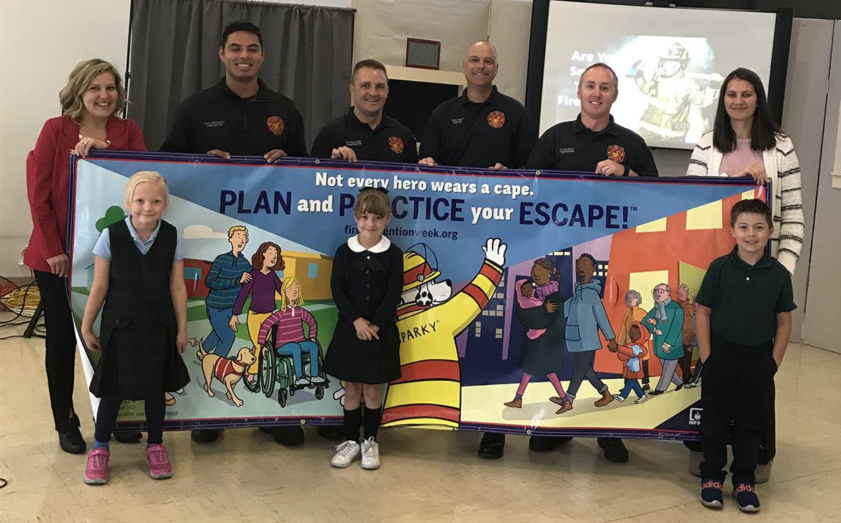 State Farm® Agent Amber Kramer Helps Firefighters Reduce Fire Dangers