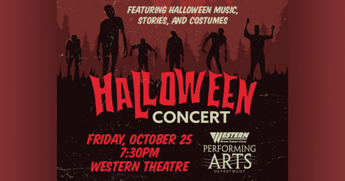 Western Students To Perform Popular Songs and Stories for Halloween