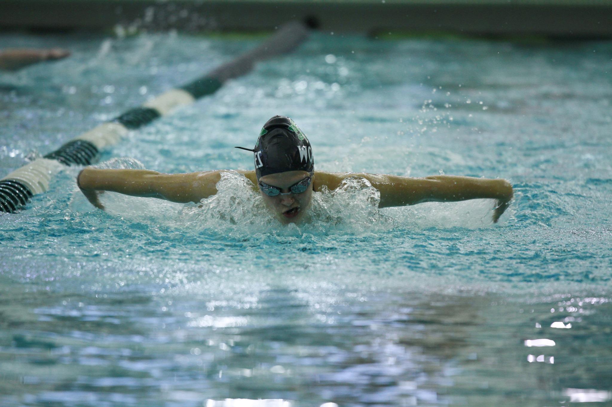 Lady Wolves Glide Into Fifth at Laramie Pentathlon