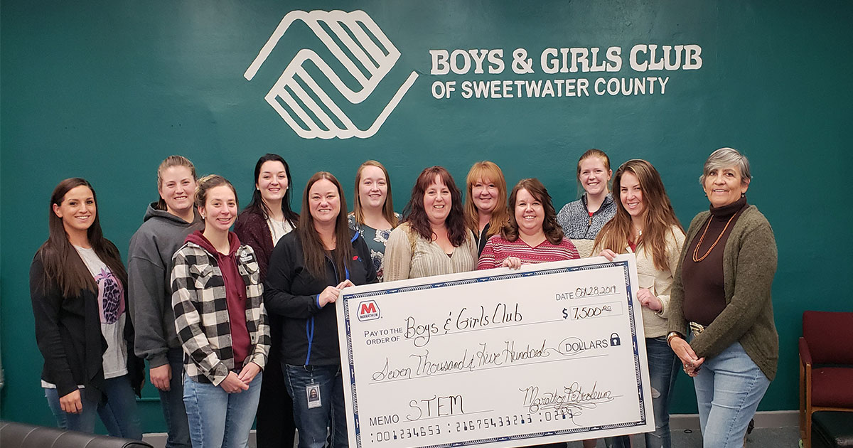 Boys & Girls Club of Sweetwater County Thanks Donors