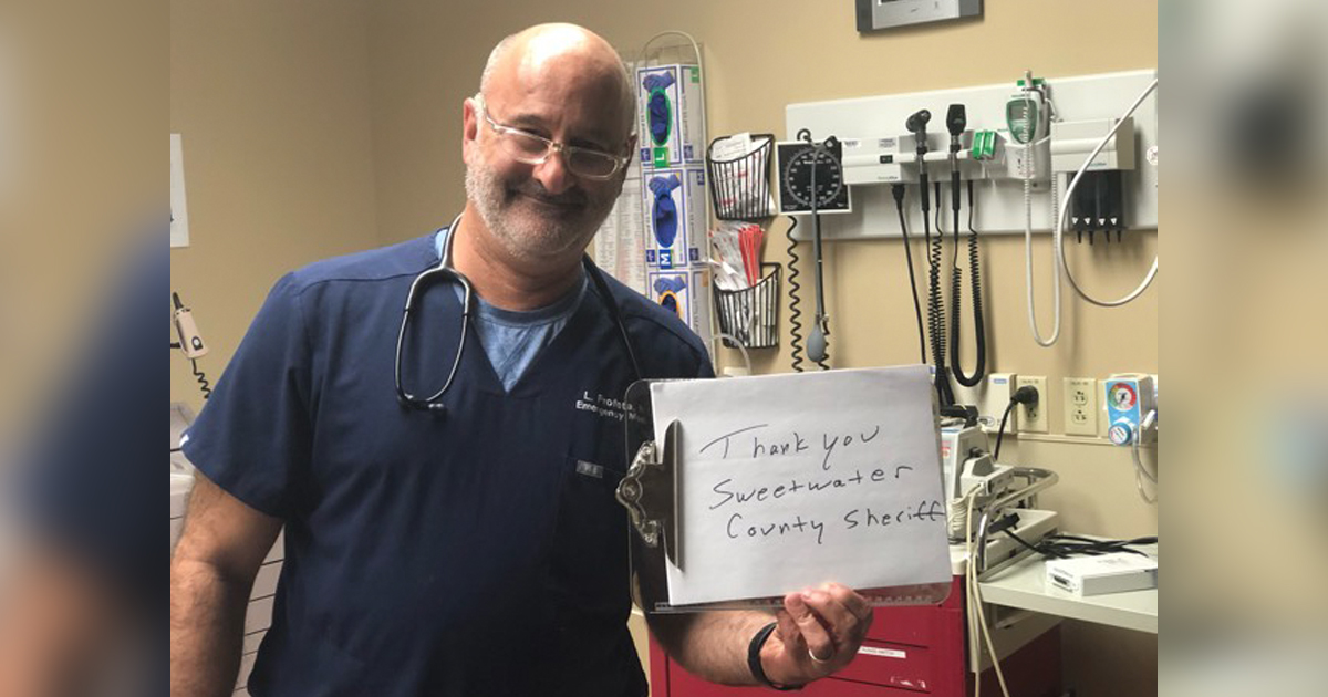 Doctor's Profound Message Reaches 14.5M Worldwide With A Little Help from The SCSO