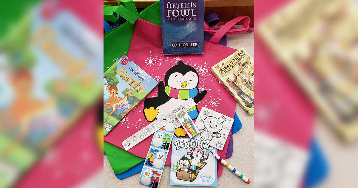 Read to Win Prizes Through the Library's Winter Reading Challenge