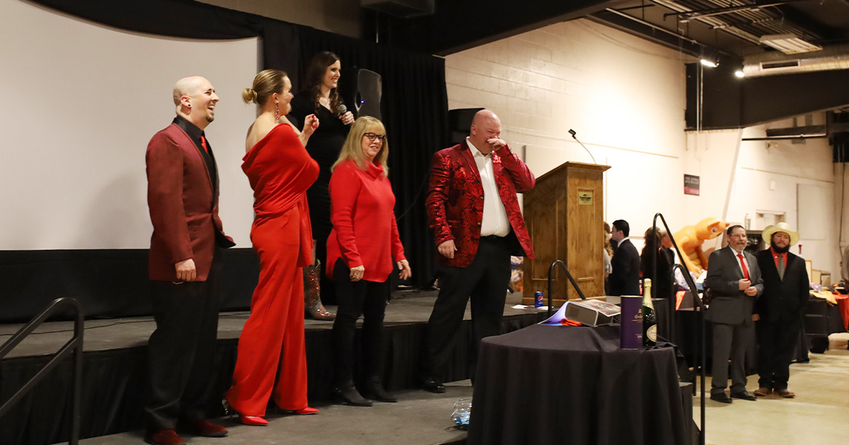Red Tie Gala Raises More Than Expected