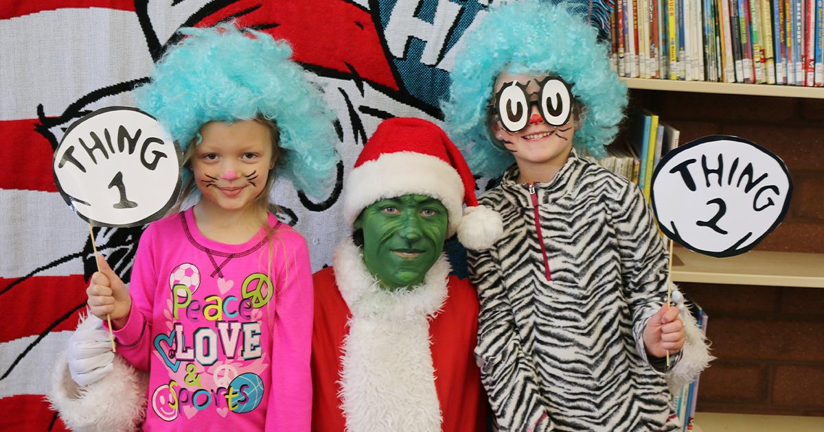 Library Dr. Seuss Event Kicks Off Read Across America