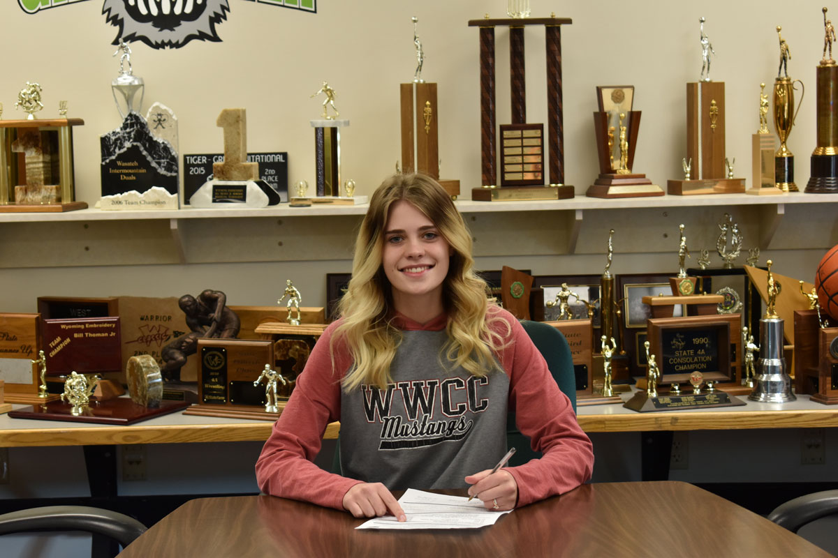 GRHS' Finch Signs with Western Soccer