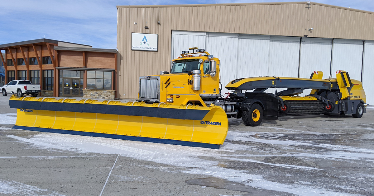 Airport Purchases a Game-Changing Piece of Snow-Removal Equipment