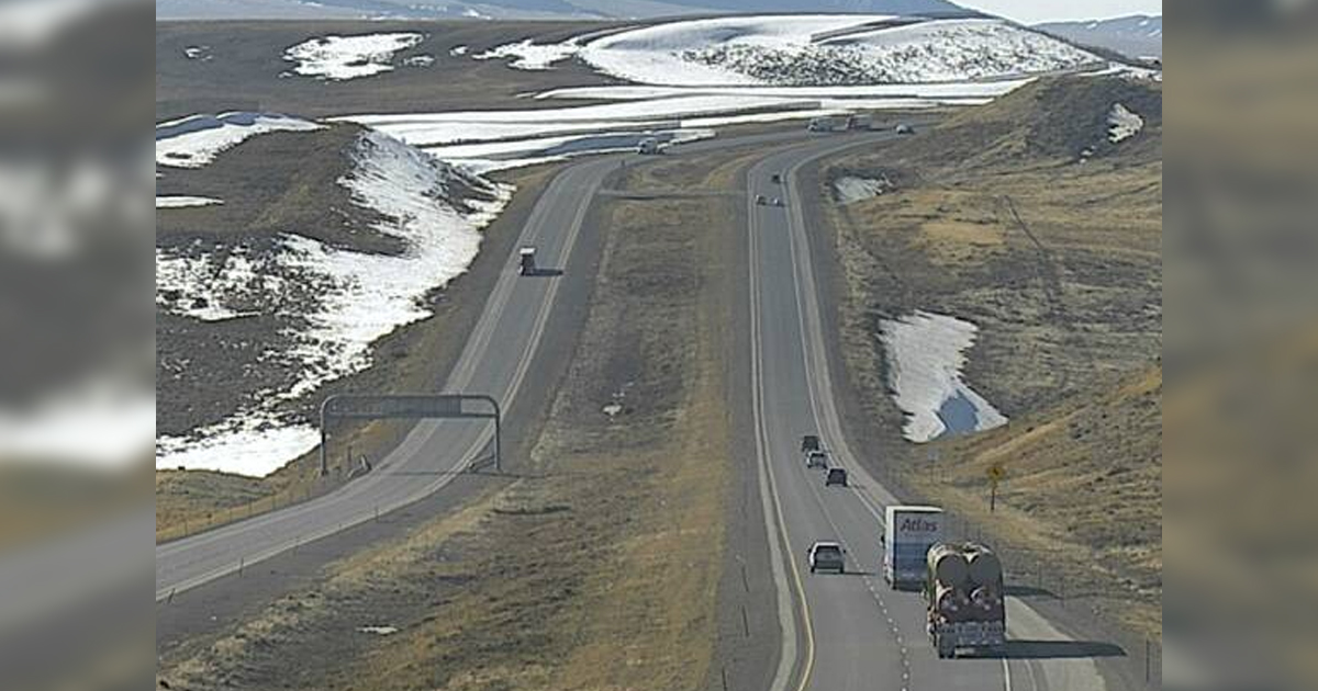 High Impact Road Conditions Expected Along I-80 Tomorrow and Saturday