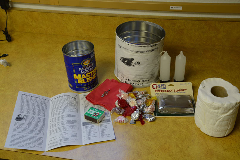 Basic winter survival kits can make all the difference for stranded motorists