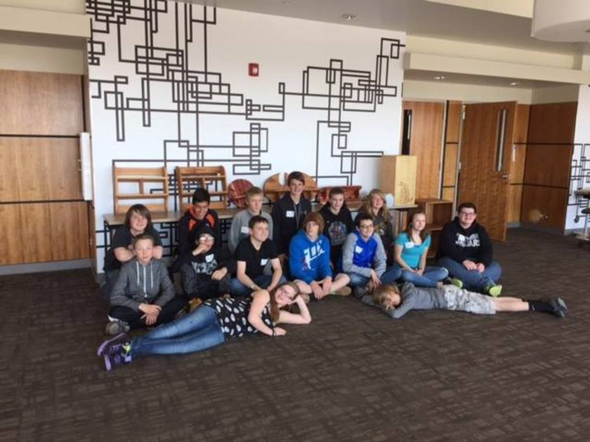 Rock Springs Jr. High wood working students compete at TSA for first time