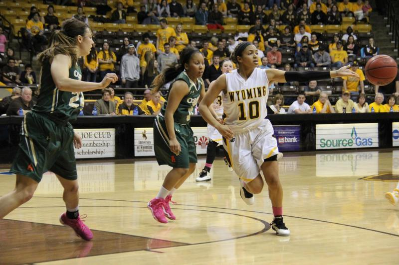 Cowgirl Basketball Suffers Heartbreaker, 66-65, against Bulldogs; Woodward and Dent finish with 20 points each