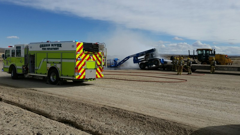 Fire Crews Heading to MGR Gas Plant Fire