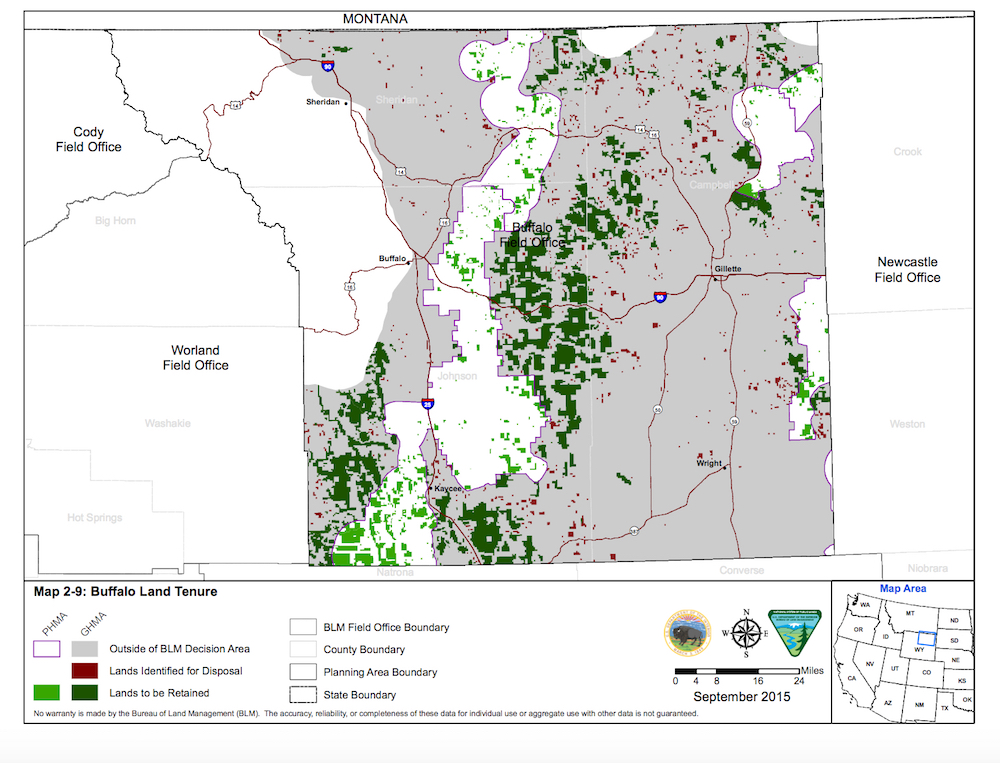 WyoFile: Bill Would Sell 694,200 Acres Of Public Land